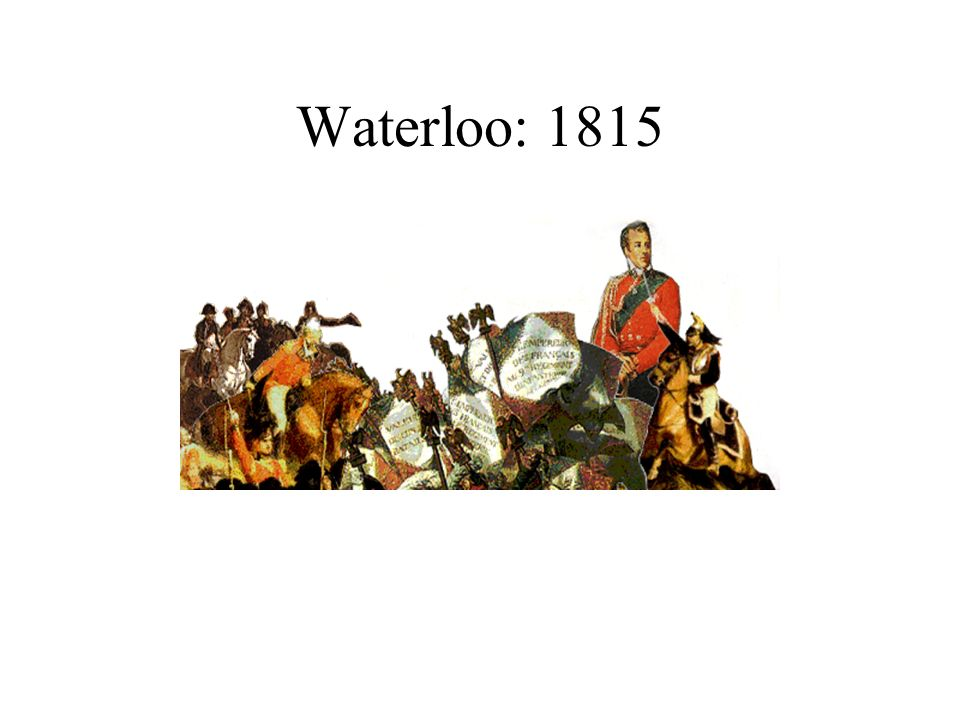 Waterloo: 1815