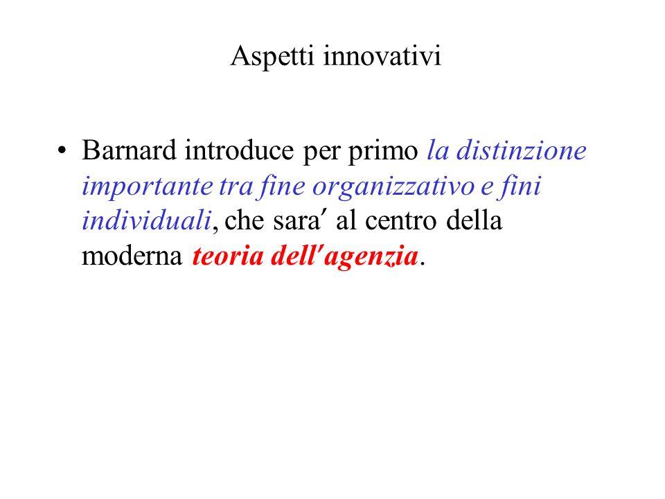 Aspetti innovativi