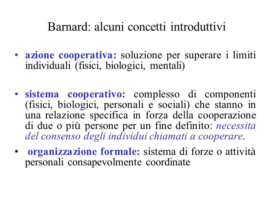 Barnard: alcuni concetti introduttivi