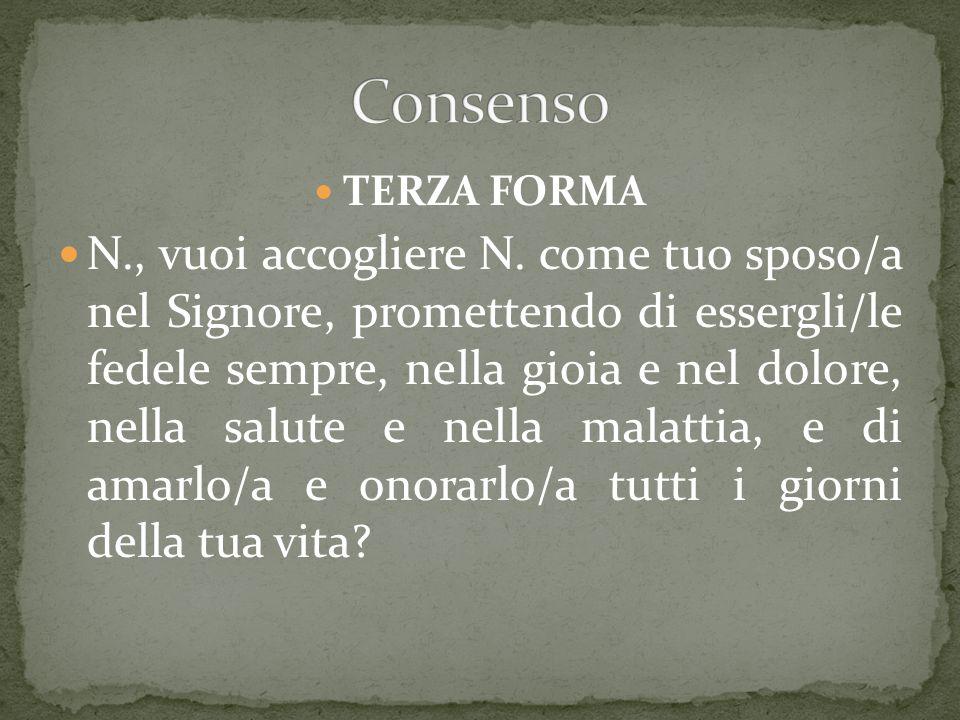 Consenso TERZA FORMA.