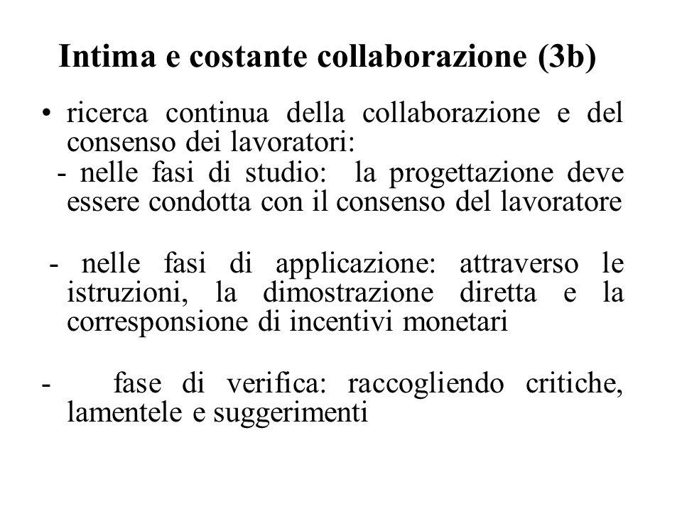 Intima e costante collaborazione (3b)