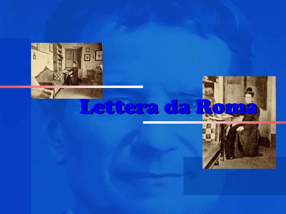 Lettera da Roma