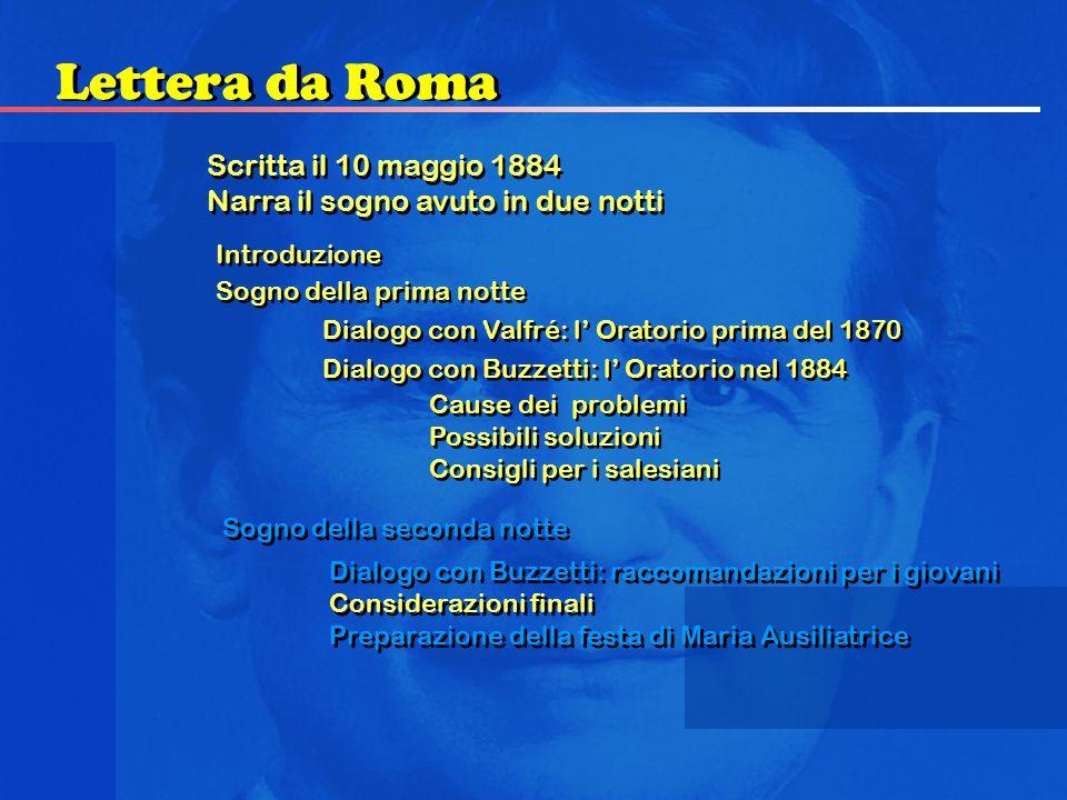 Lettera da Roma Scritta il 10 maggio 1884