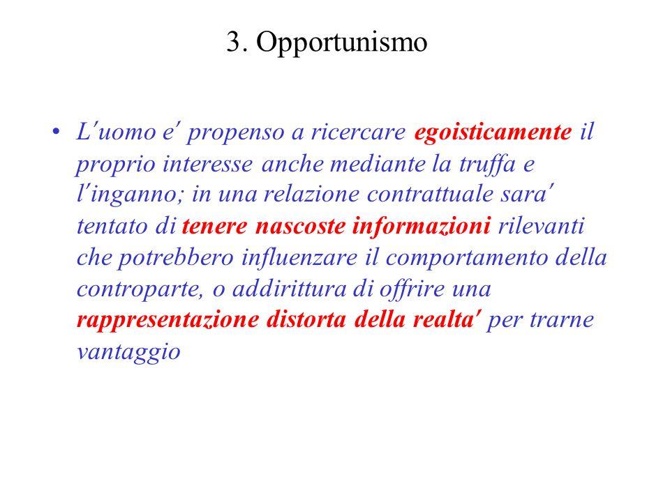 3. Opportunismo