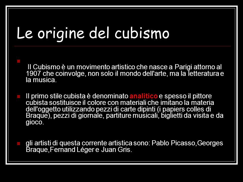Le origine del cubismo