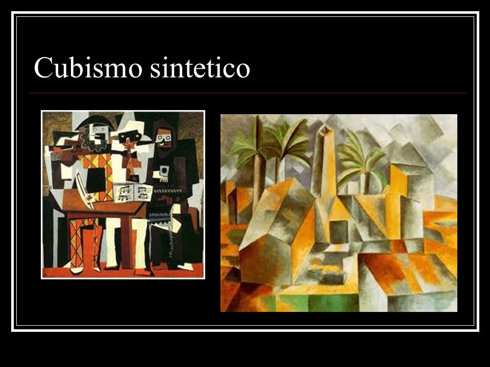 cubismo ppt video online scaricare