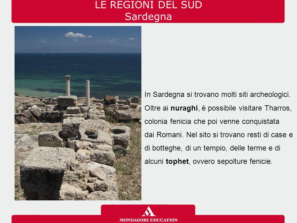 LE REGIONI DEL SUD Sardegna