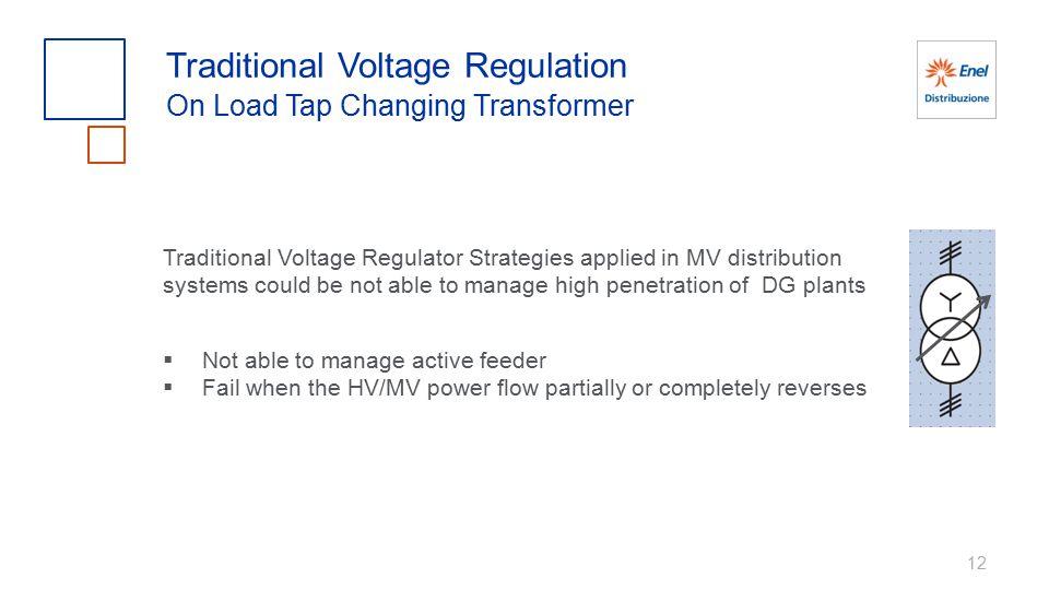 Traditional Voltage Regulation