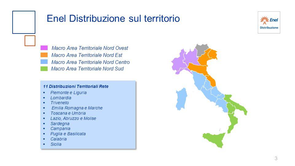 Enel Distribuzione sul territorio