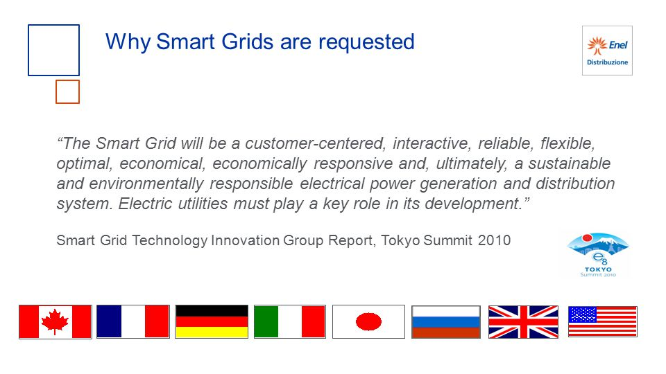 Why Smart Grids are requested