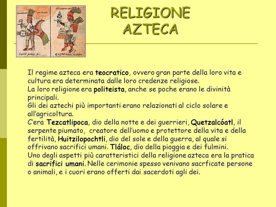 RELIGIONE AZTECA Imágenes