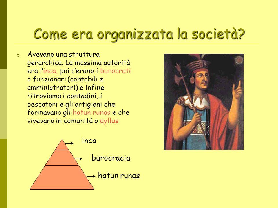 Come era organizzata la società