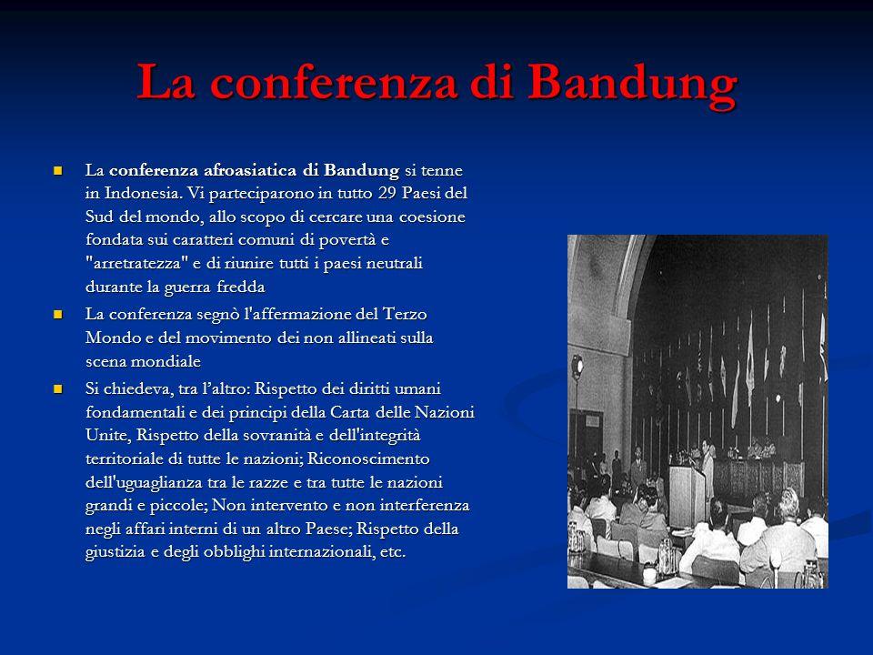 La conferenza di Bandung