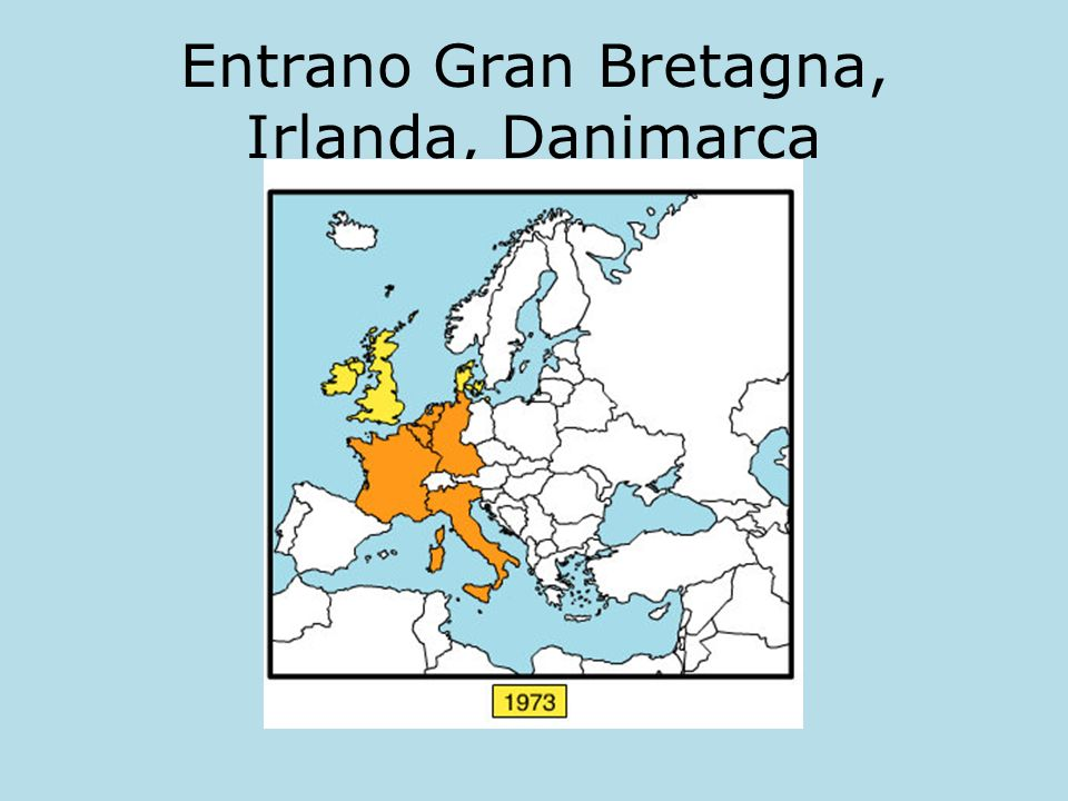 Entrano Gran Bretagna, Irlanda, Danimarca