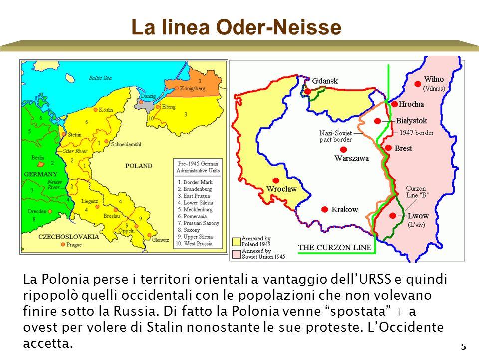 La linea Oder-Neisse