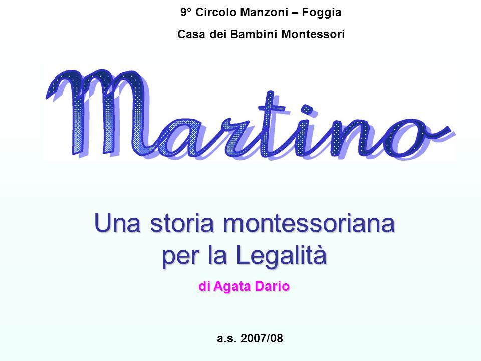 9° Circolo Manzoni – Foggia Casa dei Bambini Montessori