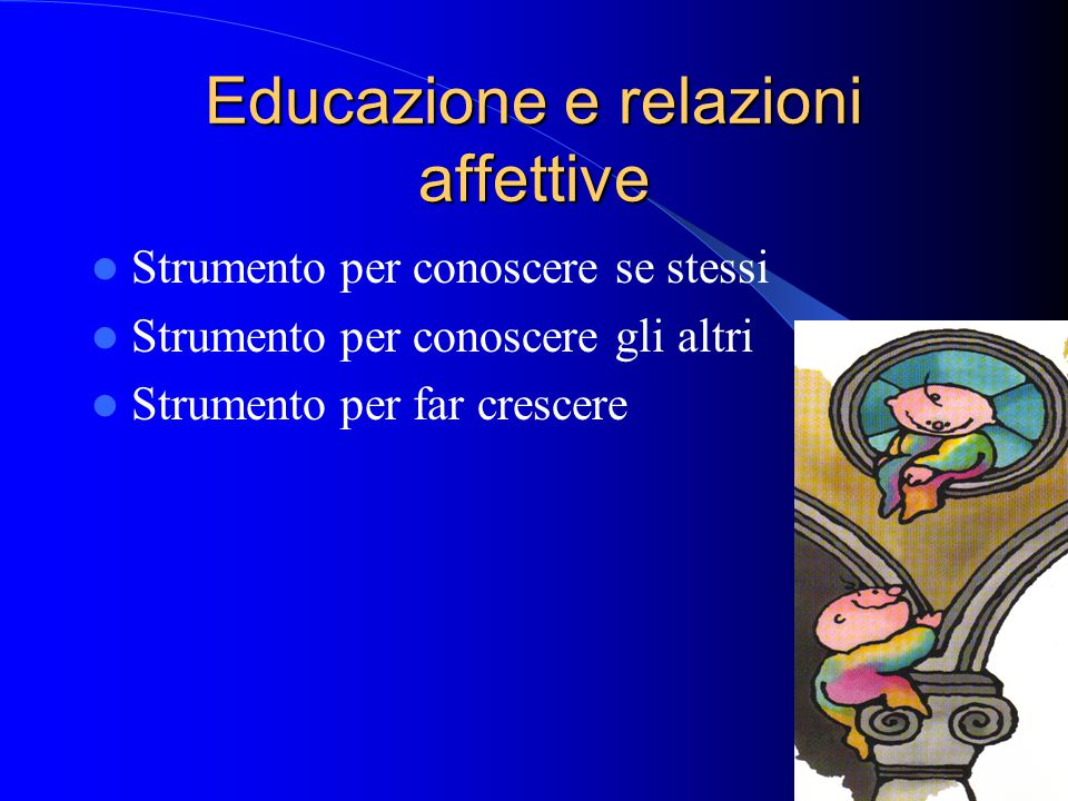 Educazione e relazioni affettive