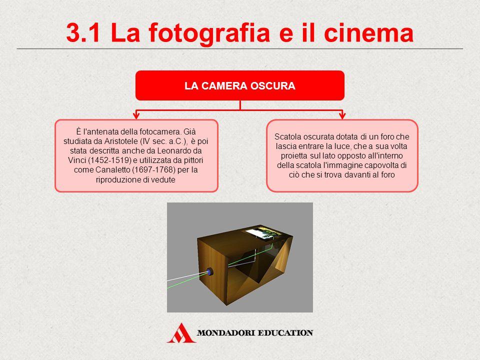 3.1 La fotografia e il cinema