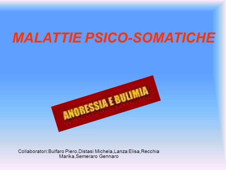 MALATTIE PSICO-SOMATICHE
