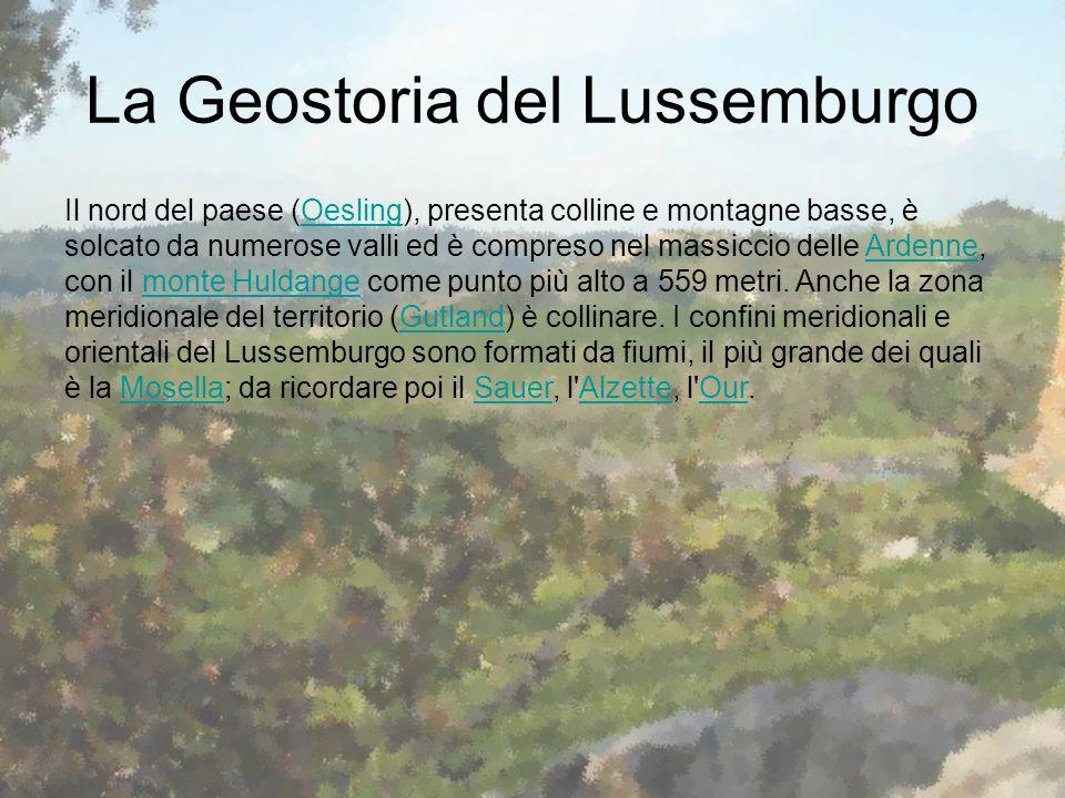 La Geostoria del Lussemburgo