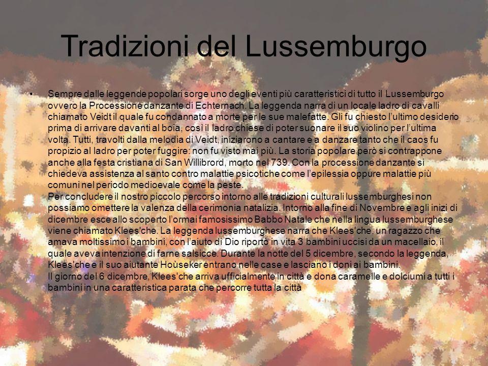 Tradizioni del Lussemburgo