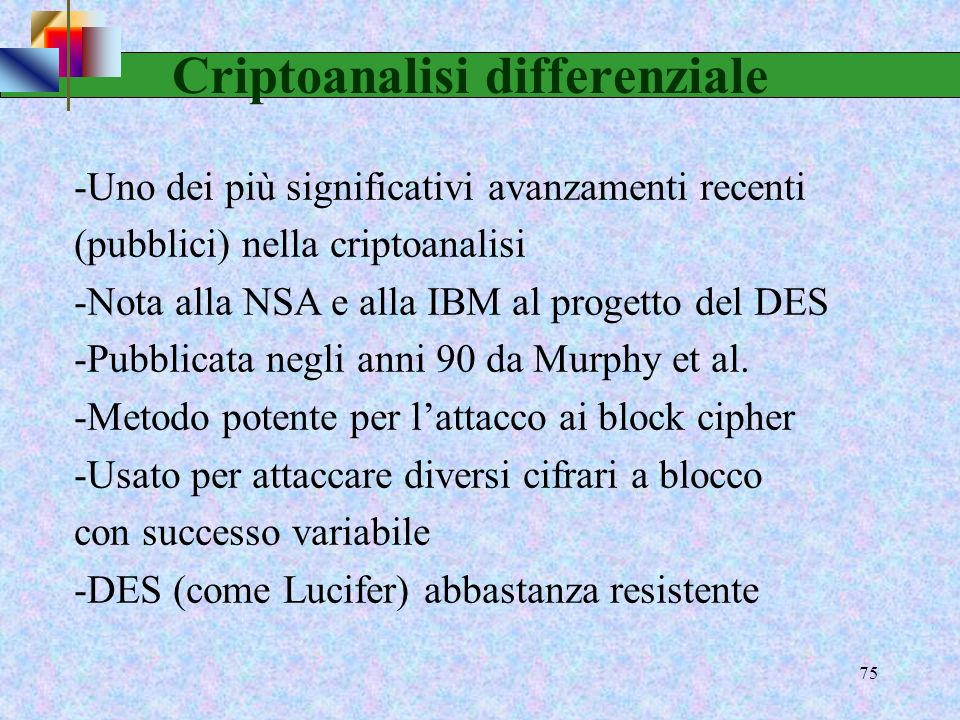 Criptoanalisi differenziale