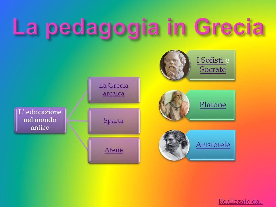 L' educazione nel mondo antico