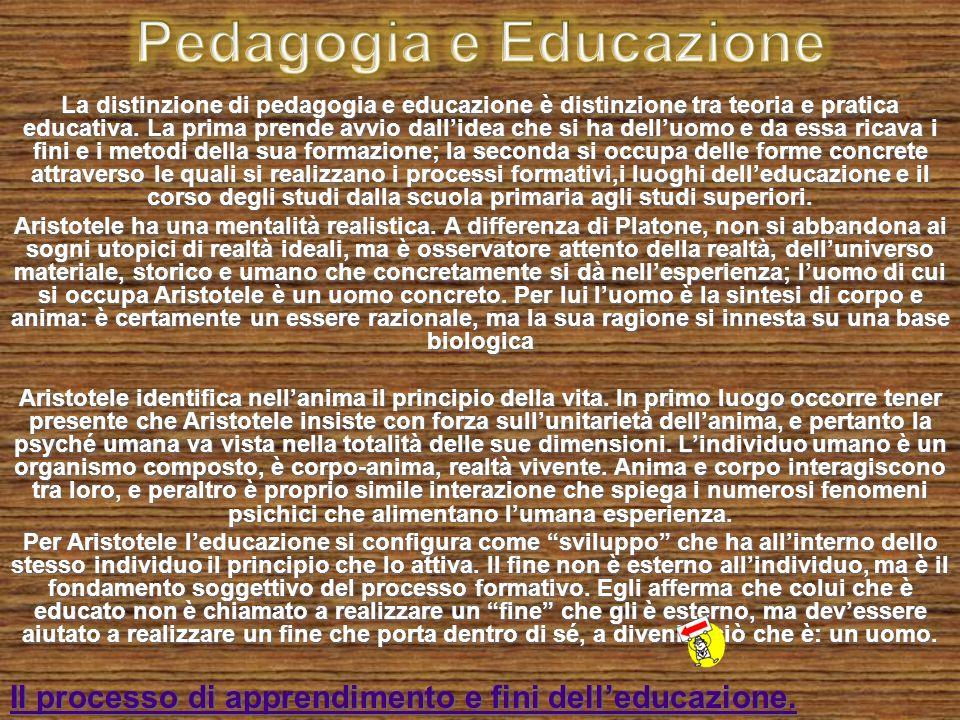Pedagogia e Educazione