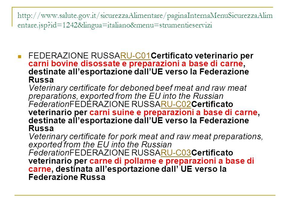 http://www.salute.gov.it/sicurezzaAlimentare/paginaInternaMenuSicurezzaAlimentare.jsp id=1242&lingua=italiano&menu=strumentieservizi