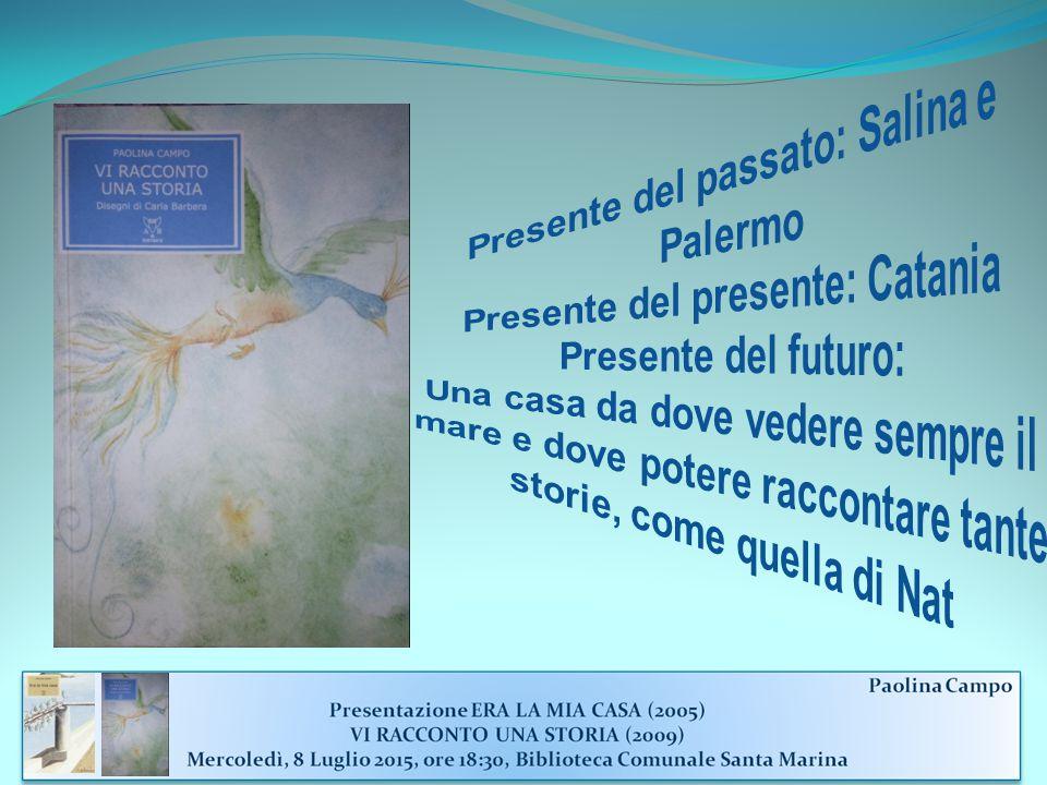 Presente del passato: Salina e Palermo Presente del presente: Catania