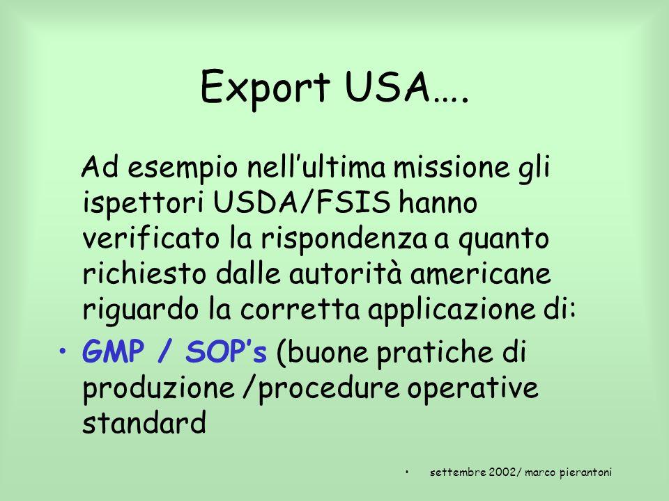 Export USA….