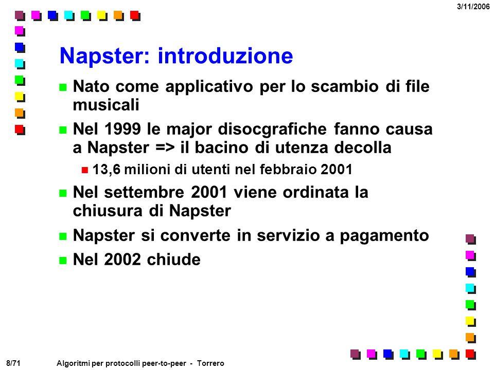 Napster: introduzione