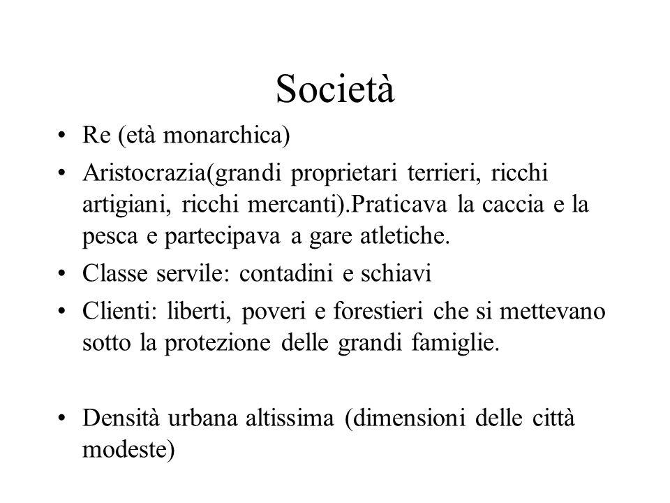 Società Re (età monarchica)