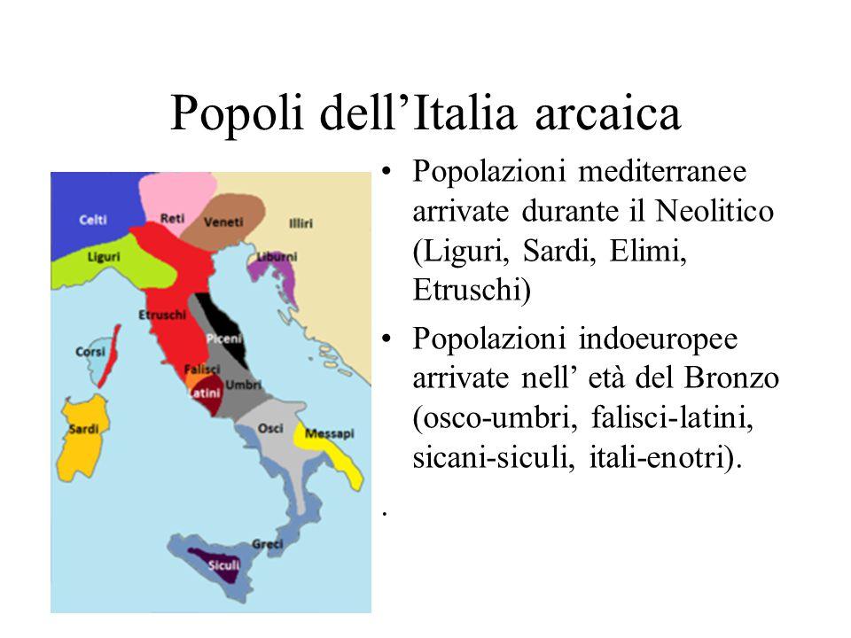 Popoli dell'Italia arcaica