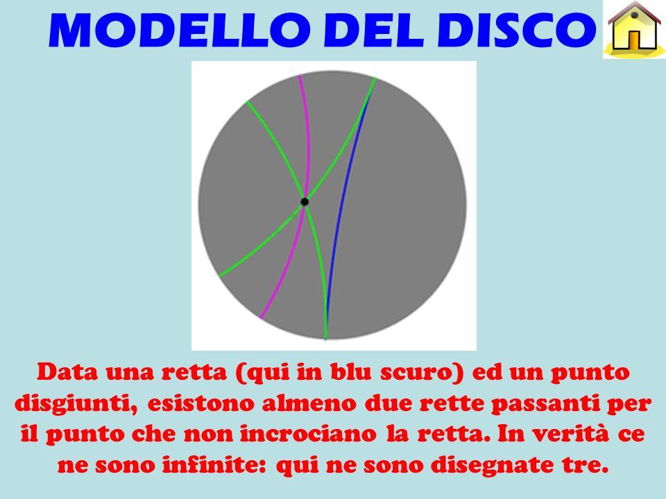 MODELLO DEL DISCO