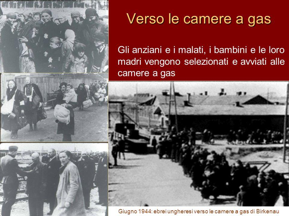 Giugno 1944: ebrei ungheresi verso le camere a gas di Birkenau