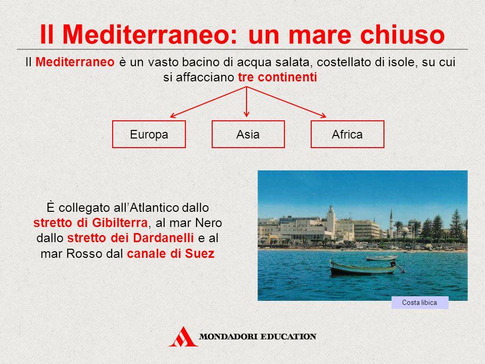 Il Mediterraneo: un mare chiuso