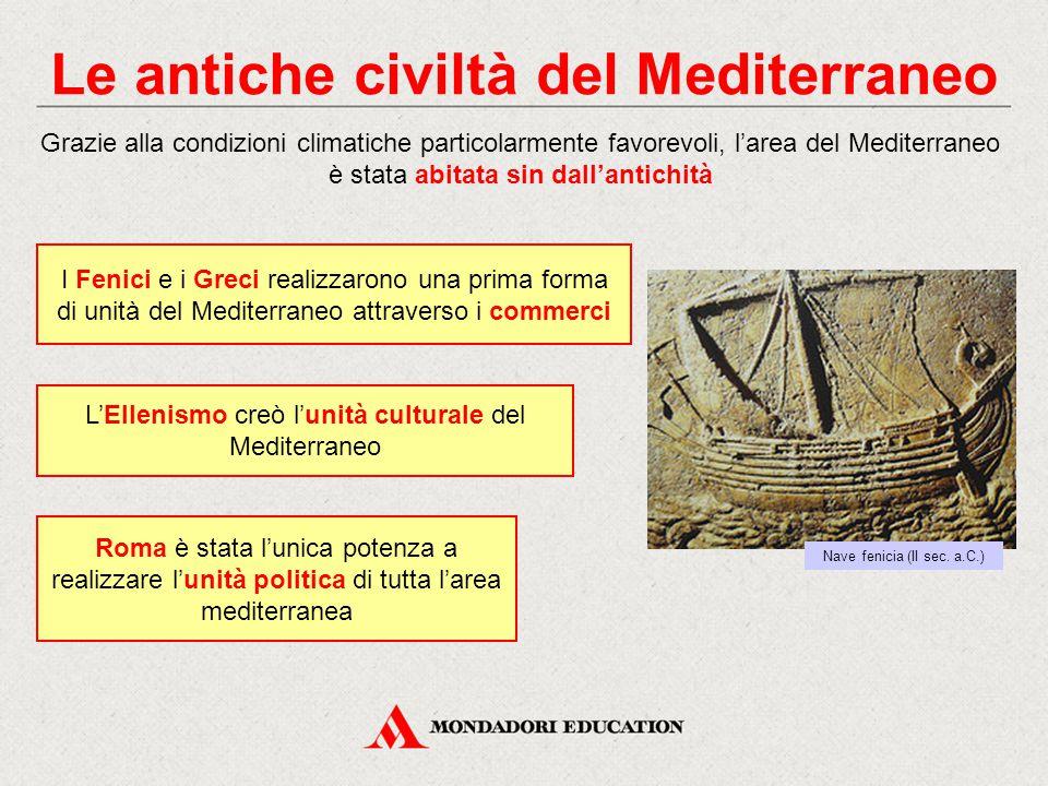 Le antiche civiltà del Mediterraneo