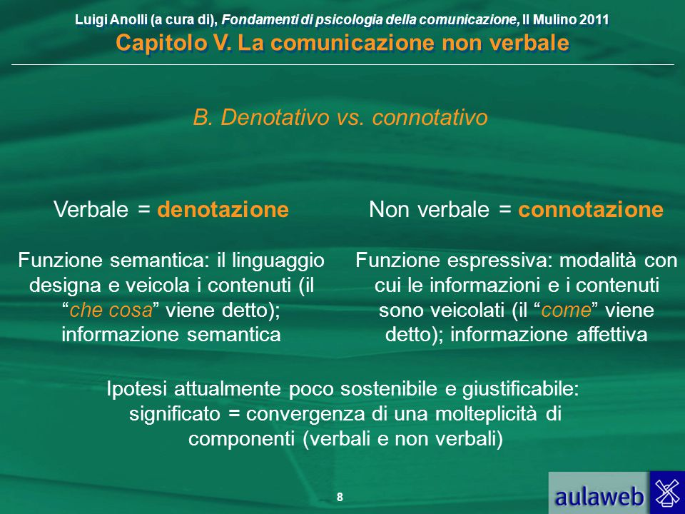 B. Denotativo vs. connotativo
