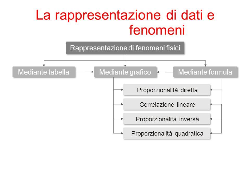 La rappresentazione di dati e fenomeni