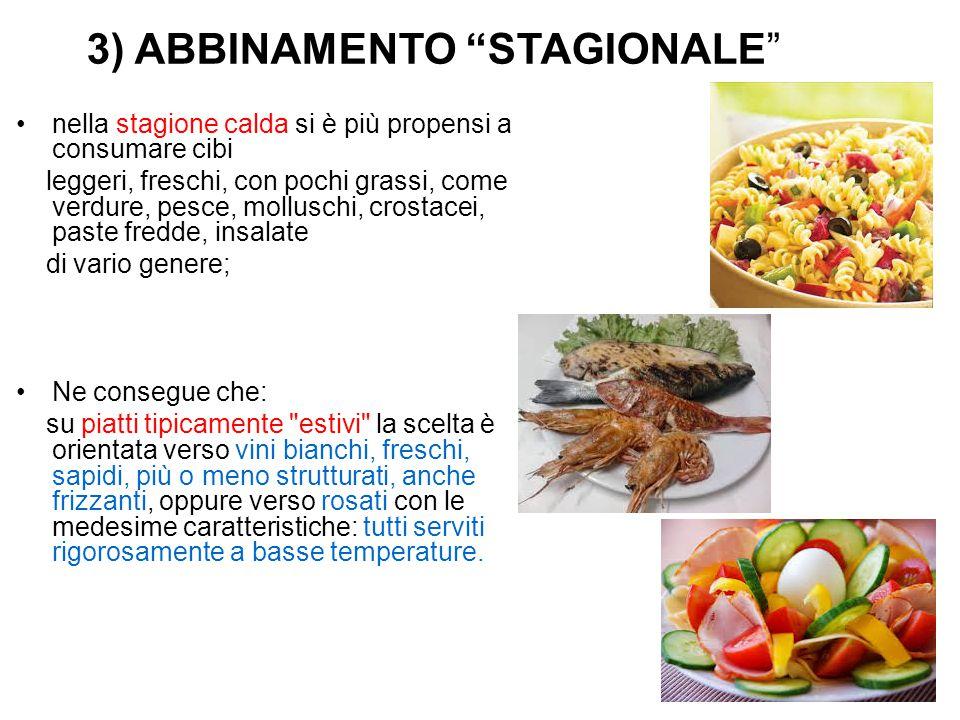 3) ABBINAMENTO STAGIONALE