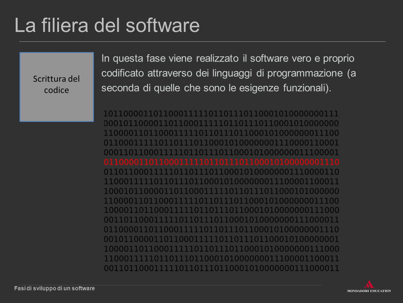 La filiera del software