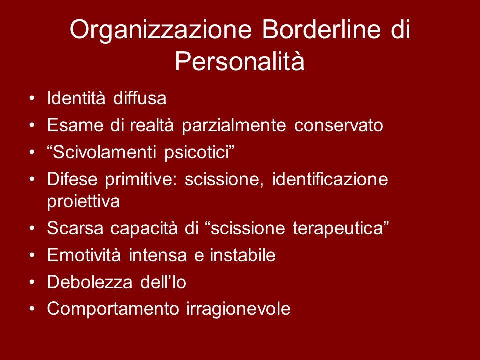 Organizzazione Borderline di Personalità