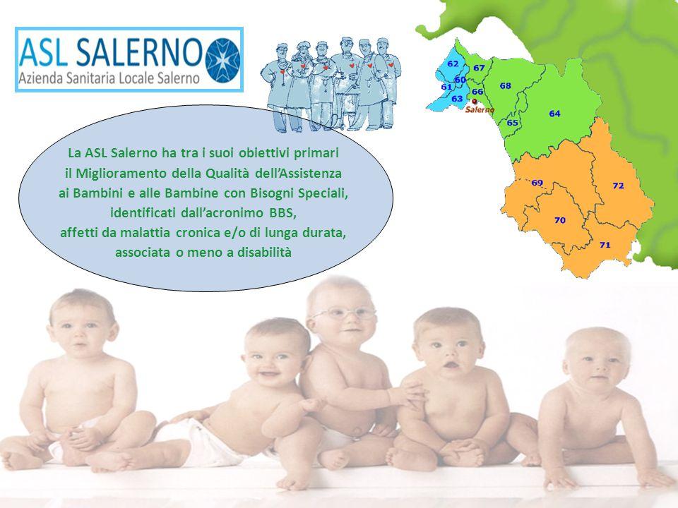 La ASL Salerno ha tra i suoi obiettivi primari