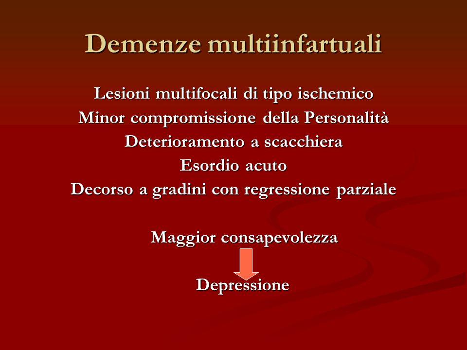 Demenze multiinfartuali