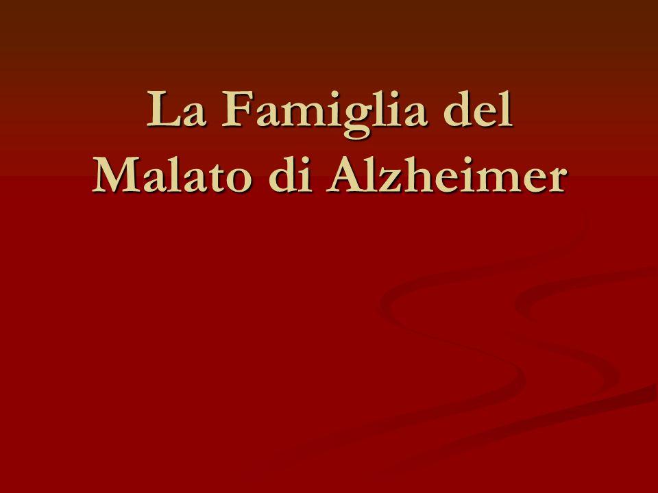 La Famiglia del Malato di Alzheimer