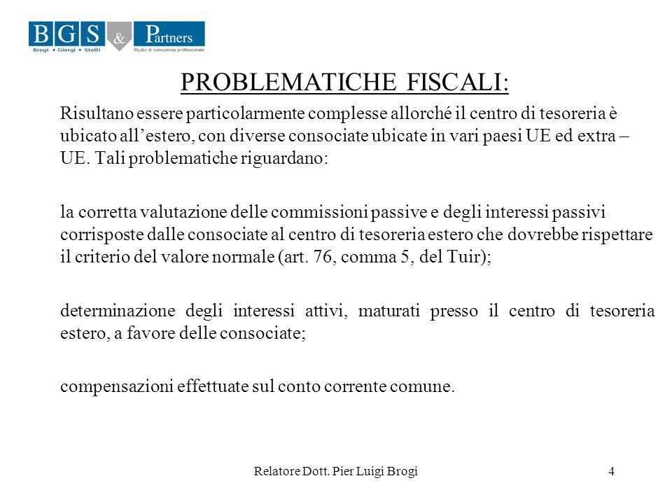 PROBLEMATICHE FISCALI: