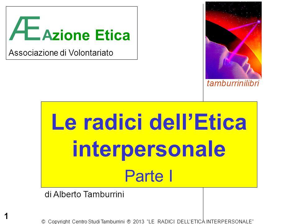 Le radici dell'Etica interpersonale