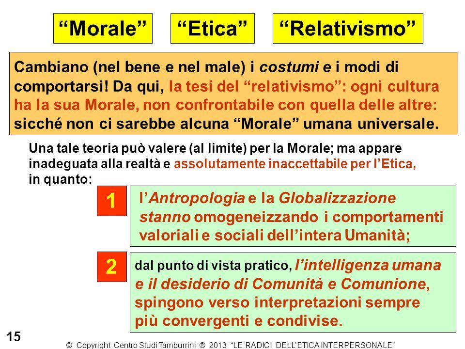 Morale Etica Relativismo 1 2