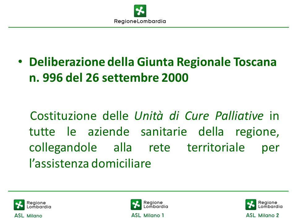 Deliberazione della Giunta Regionale Toscana n